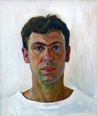 White Self Portrait
