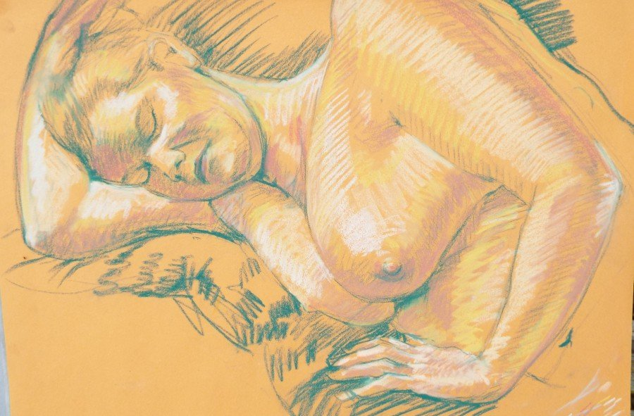 Classes in Life Drawing at Dorset Centre fo Ceative Arts, Dorchester