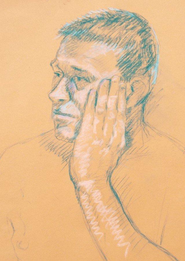 Pastel Portraits and Figure Studies